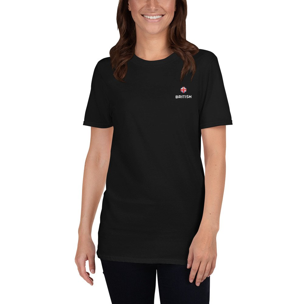 British Classic Black T-Shirt