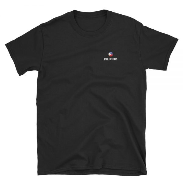 Filipino Classic Black T-Shirt