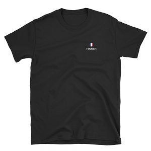 French Classic Black T-Shirt