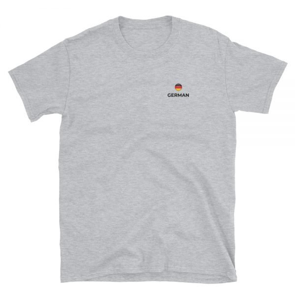 German Classic Grey T-Shirt